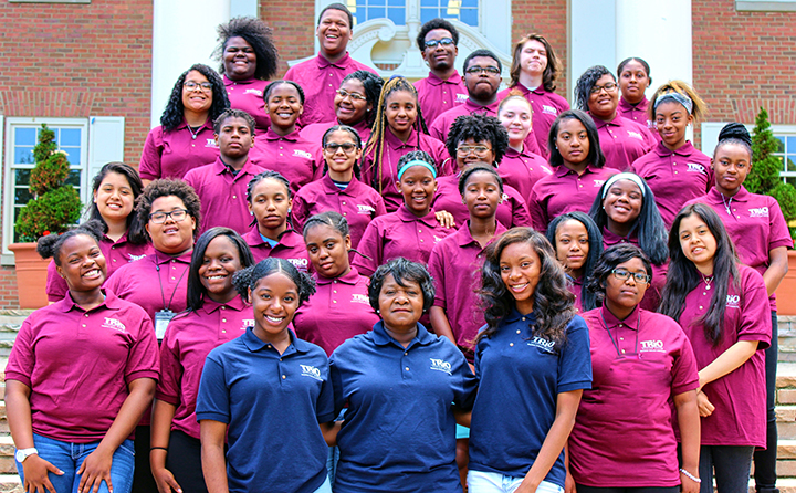 Ranging in grade level from tenth to high school graduate, Upward Bound students in the 2017 summer academy spent five weeks on campus in an intensive camp experience.