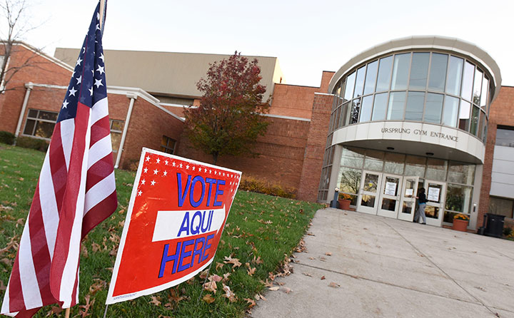 BW's Lou Higgins Recreation Center serves as an election polling place