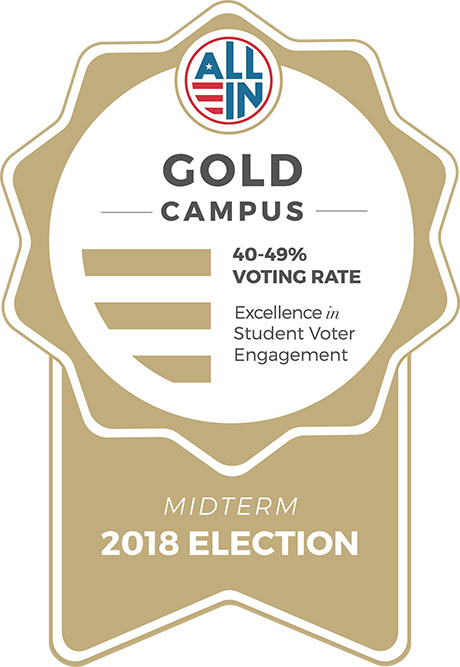 2018 Gold Seal Campus recognition
