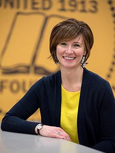 photo of new alumni director Christie Davenport