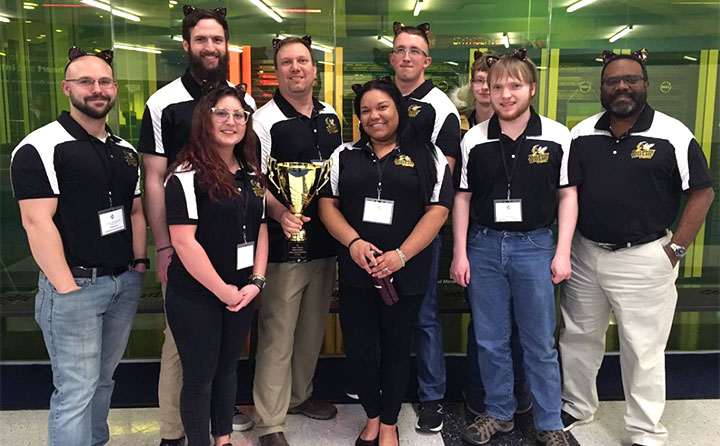 Baldwin Wallace Cyber Security Team Triumphs At Midwest