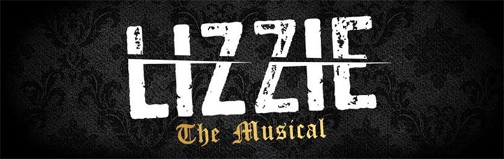 Lizzie the Musical off-Broadway logo