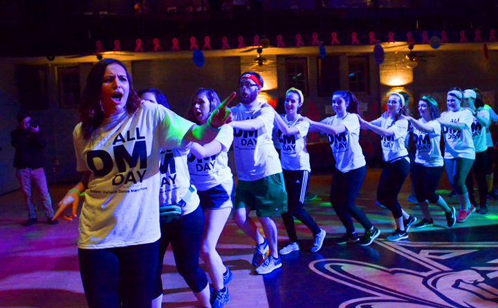 Image of Students at Dance Marathon