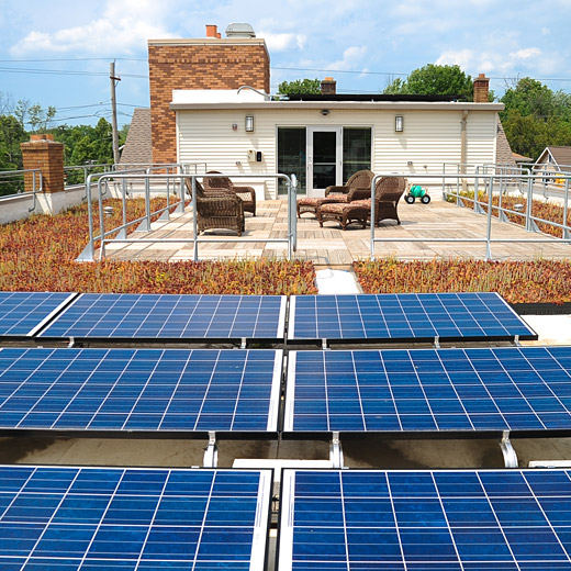 Sustainability: Harding House Solar Panels