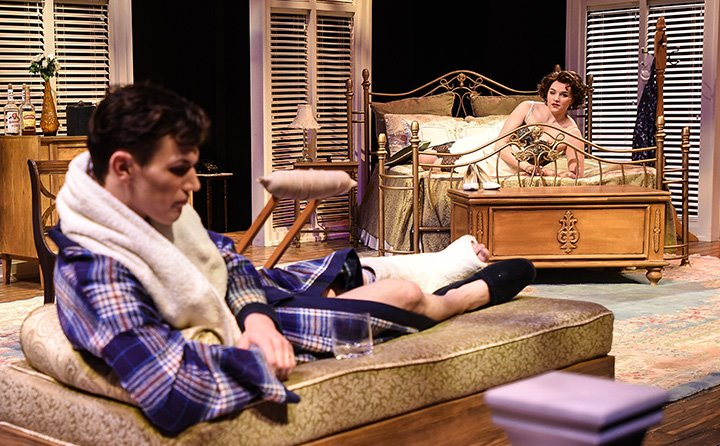 """Cat on a Hot Tin Roof"" at Baldwin Wallace 2015"