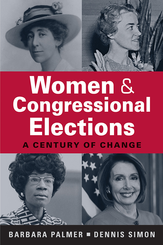 Book cover: Women and Congressional Elections: A Century of Change