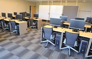 Photo of classroom at Corporate College East