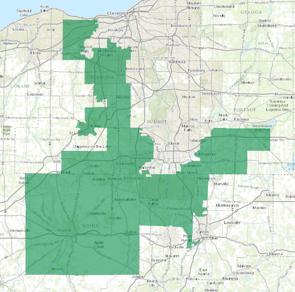 Ohio's 16th District in 2012