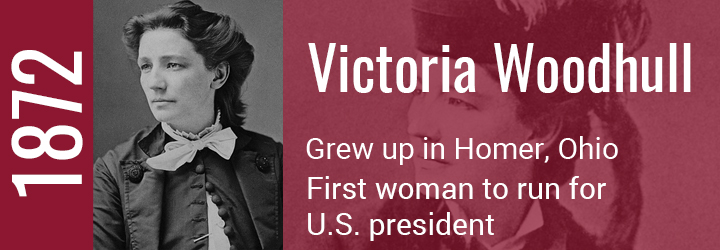 Victoria Woodhull Tile