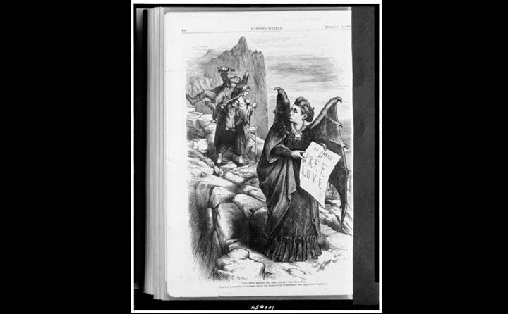 Victoria Woodhull Cartoon 1872
