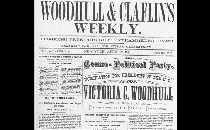 Woodhull and Claflin's Weekly